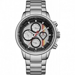 Reloj 9184 NAVIFORCE Hombre Sport Military Luxury Multifunction Business Stainless Steel Quartz for