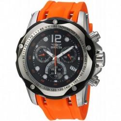 Reloj Invicta 20072 Hombre Speedway Stainless Steel Swiss-Quartz with Polyurethane Strap, Orange, 26