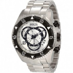 Reloj Invicta 1881 Hombre Reserve Chronograph Silver Dial Stainless Steel