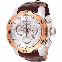 Reloj Invicta 0359 Hombre Reserve Collection Venom Chronograph Brown Leather