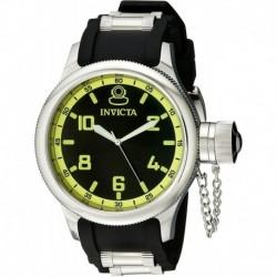 Reloj Invicta 1433 Hombre Russian Diver Black Dial Rubber