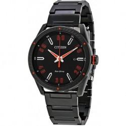 Reloj Citizen BM6995-51E Hombre Stainless Steel Black Bracel (Importación USA)