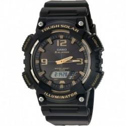 Reloj Casio EAW-AQ-S810W-1A3V Hombre Tough (Solar Powered) Quartz with Resin Strap, Black, 21