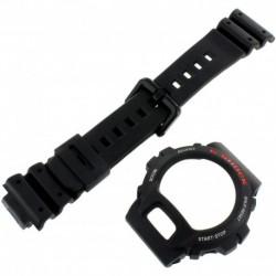 Reloj Casio DW6900 Genuine Factory ReplaceHombret Resin Band & Bezel Set fits DW-6600-1V DW-6600C-1V DW-6900-1V DW-6900BD-1V