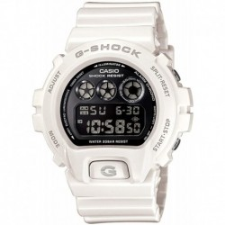 Reloj Casio DW-6900NB-7DR G-Shock DW6900NB-7 Chronograph Digital Hombre (White)