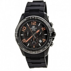 Reloj EFR516PB-1A4 Hombre Black Stainless Steel Edifice Chronograph Dial Resin Strap