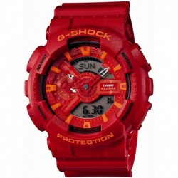 Reloj Casio GA-110AC-4AJF G-SHOCK Blue and Red Series Hombre LIMITED EDITION (Japan Import)