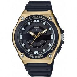 Reloj Casio MWC-100H-9AVCF Hombre Quartz with Resin Strap, Black, 18.5