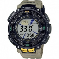 Reloj Casio PRG-240-5CR Hombre Quartz Sport with Resin Strap, Khaki, 27