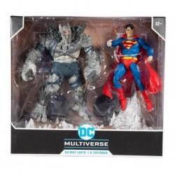 Dc Multiverse Pack Superman Vs Devastator Figura Mcfarlane (Entrega Inmediata)