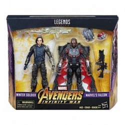 Marvel Legends Infinity War Winter Soldier & Falcon Hasbro (Entrega Inmediata)