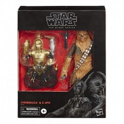 Star Wars Black Series Chewbacca & C-3po Figura Hasbro Nueva (Entrega Inmediata)