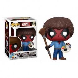 Marvel Deadpool Bob Ross Figura Funko Pop (Entrega Inmediata)
