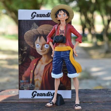 One Piece Grandista Monkey D Luffy Figura En Caja (Entrega Inmediata)