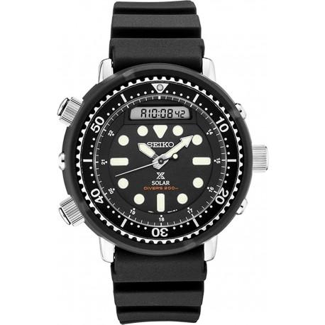 Reloj Seiko SNJ025 Prospex Divers Solar 200m Hombre (Importación USA)