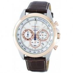 Reloj Seiko SSB250P1 Neo Sports Two-tone Chronograph Hombre (Importación USA)