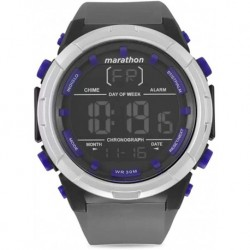 Reloj Timex TW5M21000 Marathon Digital Dial Silicone Strap H (Importación USA)