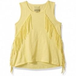 Reloj Calvin Klein Girls' Big Solid Fringe Tank Yellow Heath (Importación USA)