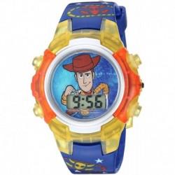 Reloj TYM4030 Disney Quartz with Plastic Strap Black 14.75 (Importación USA)