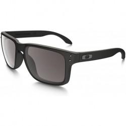Gafas Oakley Holbrook 57MM Matte Black Frame/Warm Grey L (Importación USA)