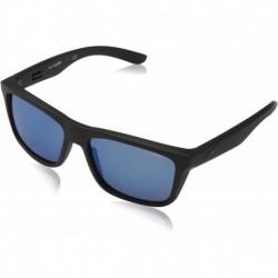 Gafas Arnette Hombre Syndrome AN4217 Black Matte/Blue Plasti (Importación USA)