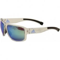 Gafas Adidas Hombre Jaysor AD20 6059 Shiny Crystal Sport 60m (Importación USA)