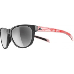 Gafas Adidas 425 6068 Black Red Silver Wildcharge Square Cyc (Importación USA)