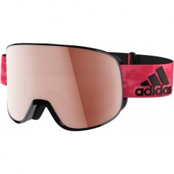 Gafas Adidas ad81 6050 Black Matt LST Active Silver Progress (Importación USA)
