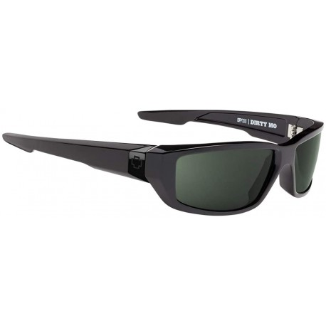 Gafas Spy Dirty Mo SOSI Black HD Plus Gray Green Polar (Importación USA)