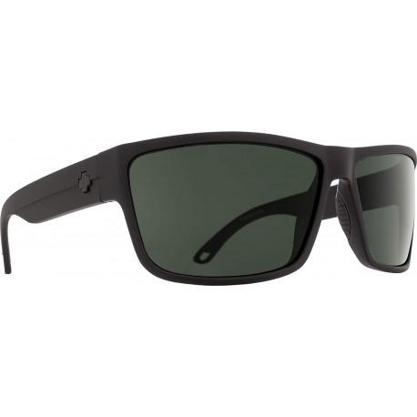Gafas Spy Rocky SOSI Matte Black HD Plus Gray Green Polar (Importación USA)
