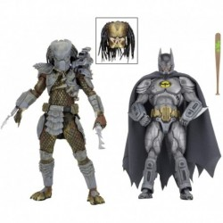 Figura NECA 2019 SDCC Exclusive Batman Vs Predator 2-Pack Fi