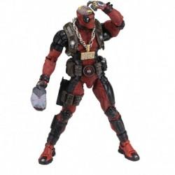 Figura NECA Marvel -1/4 Scale Action Figure - Ultimate Deadp (Importación USA)