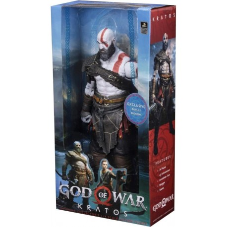 Figura NECA God of War 2018 1/4 Scale Action Figure Kratos (Importación USA)