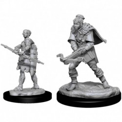 Figura NECA D&D Nolzurs Marvelous Upainted Miniatures Wa 4 (Importación USA)