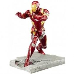 Figura Kotobukiya ARTFX Iron Hombre MARK46 Civil War (Importación USA)