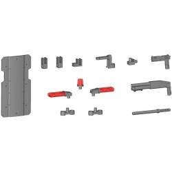 Figura Kotobukiya M.S.G Modeling Support Goods Weapon Unit 4 (Importación USA)