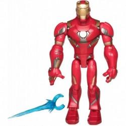 Figura Marvel Iron Hombre Action Figure Toybox (Importación USA)