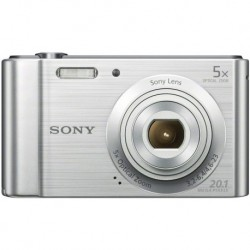 Cámara Digital Sony DSCW800 20.1 MP Silver (Importación USA)