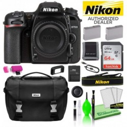Cámara Digital Nikon Combo D7500 DSLR Body Only 1581 USA Mod (Importación USA)