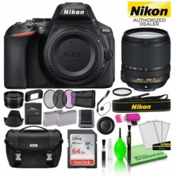 Cámara Digital Nikon Combo D5600 24.2MP DSLR AF-S DX 18-140m (Importación USA)