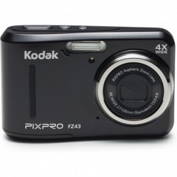 Cámara Digital Kodak PIXPRO Friendly Zoom FZ43-BK 16MP 4X Op (Importación USA)