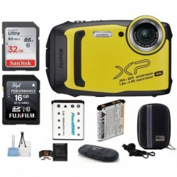 Cámara Digital Fujifilm Combo FinePix XP140 Water Shock Free (Importación USA)