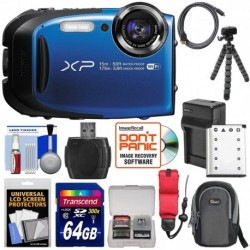 Cámara Digital Fujifilm FinePix XP80 Shock & Waterproof Wi-F (Importación USA)
