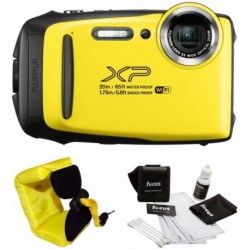 Cámara Digital Fujifilm Combo FinePix XP130 Rugged Waterproo (Importación USA)