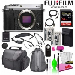 Cámara Digital Fujifilm Combo X-E3 24.3MP Mirrorless Body On (Importación USA)