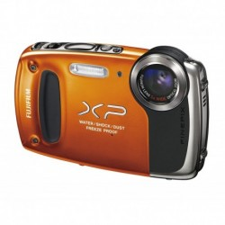 Cámara Digital Fujifilm XP50 orange (Importación USA)