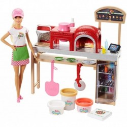 Barbie Pizza Chef Doll And Playset, Blonde (Entrega Inmediata)
