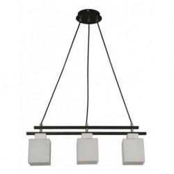 Lámpara De Colgar Bronce Cromo 3 Luces E27 60w (Entrega Inmediata)