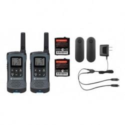 Par De Radios Motorola T200 Mas Dos Manos Libres (Entrega Inmediata)