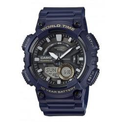 Reloj Casio Aeq-110w Telememo Hora Mundial 100% Original (Entrega Inmediata)